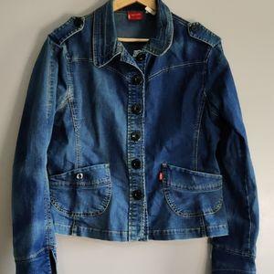 Vintage Levi's Fitted Denim Jacket